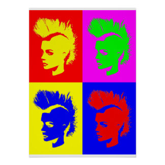 Punk Girl - Pop kind verse. II Poster