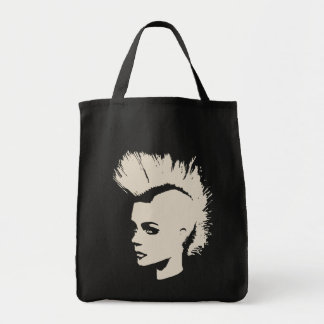Punk Girl - university University of print - cream Tote Bag