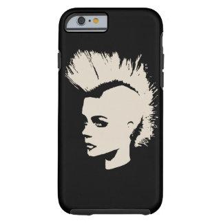 Punk Girl - university University of print - cream Tough iPhone 6 Case