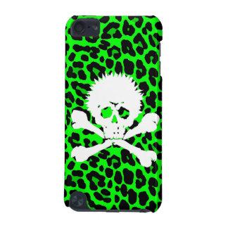 Punk Gothic Skull   Leopard iPod Touch 5G Case