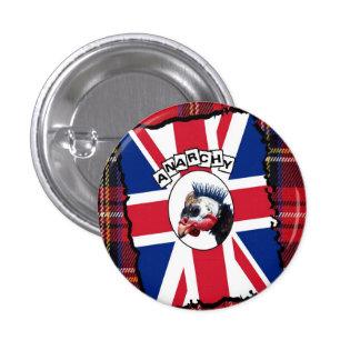 Punk guineafowl button