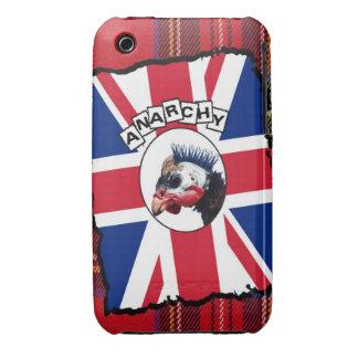 Punk guineafowl iPhone 3 case