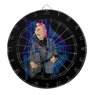 punk guitar player male blue red.png dartboard