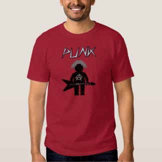 Punk Guitarist Minifig T-shirt