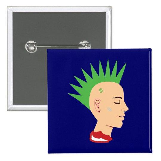 Punk Guy Button