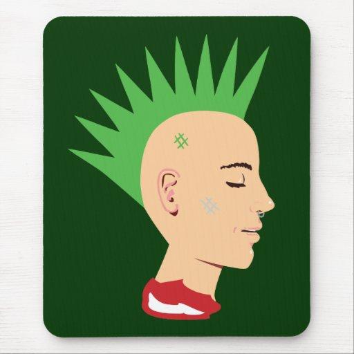 Punk Guy Mouse Pad