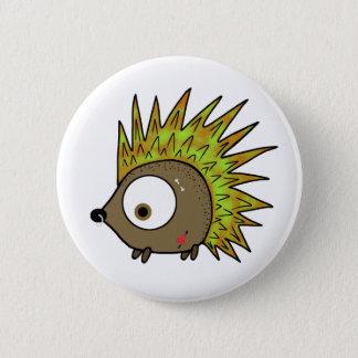 Punk Hedgehog Pinback Button