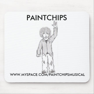 Punk-Hippie Mousepad Tapete De Raton