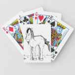 Punk horse creature bicycle poker deck