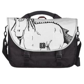 Punk horse creature bag for laptop