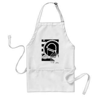 punk ice cream dripz adult apron
