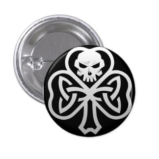 Punk irlandés 1 1/4 Pin del botón