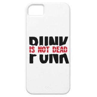 Punk is emergency DEAD iPhone 5 Case