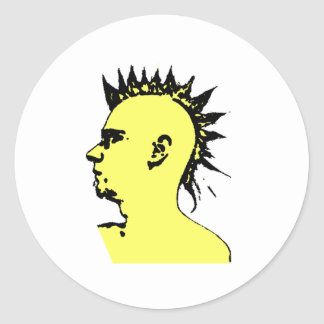 Punk Is Not Dead Classic Round Sticker