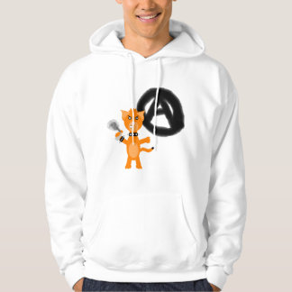 Punk Kat Hooded Pullover