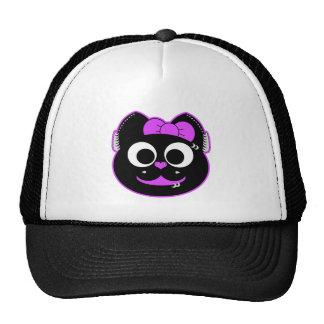 Punk kitty Purple Trucker Hat
