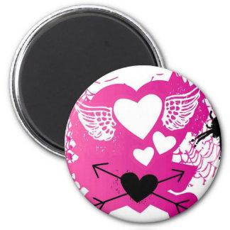 Punk Love Refrigerator Magnet