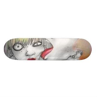 punk love skateboard