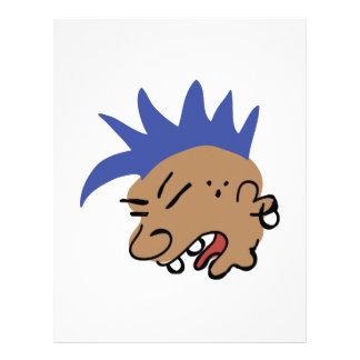 Punk Man Letterhead