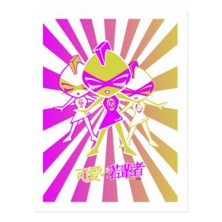 Punk Mascot Postcard