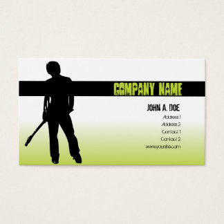 Punk Music Business Card