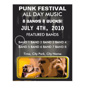 Punk Music Festival Flyer