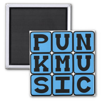 Punk Music, Music Genre Fridge Magnets