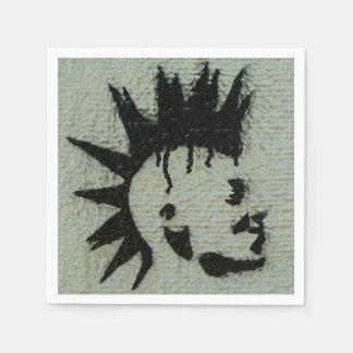 Punk napkins. paper napkin