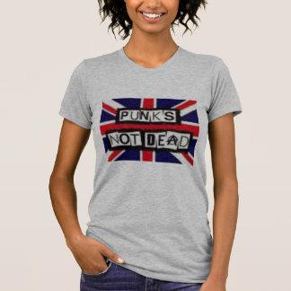 Punk no muerto camisetas