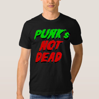Punk no muerto playeras