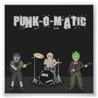 Punk-o-Matic Band & Logo Photo
