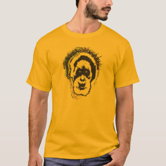 Punk Orangutan - Rock and roll king of the jungle T-Shirt