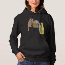 punk owls hoodie