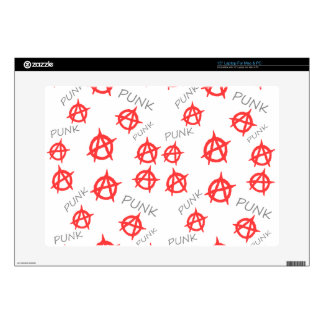 "Punk pattern 15"" laptop decals"