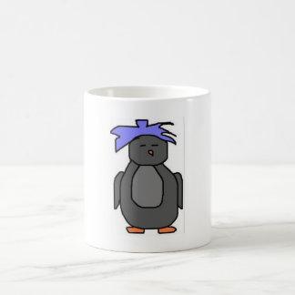Punk Penguin Coffee Mug