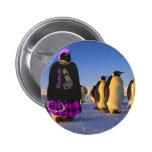 Punk Penguin Pin