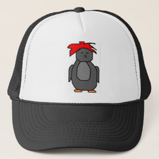 Punk Penguin Trucker Hat