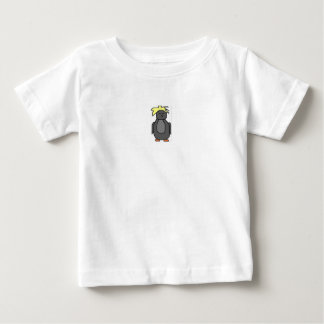 Punk Penguin with Yellow Hair Baby T-Shirt