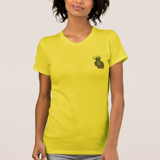 Punk Penguin with Yellow Hair T-Shirt