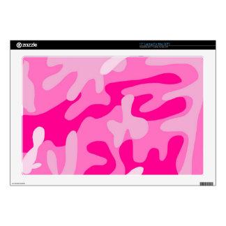"Punk Pink Camo Skin For 17"" Laptop"