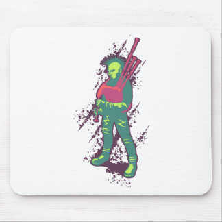 Punk Piper Mouse Pad