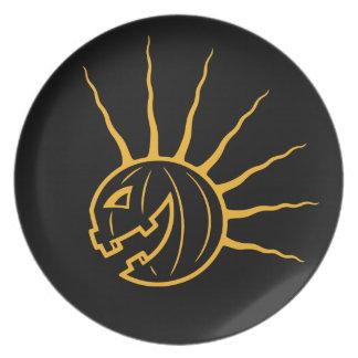 Punk Pkin Melamine Plate