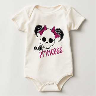Punk Princess Baby Bodysuit