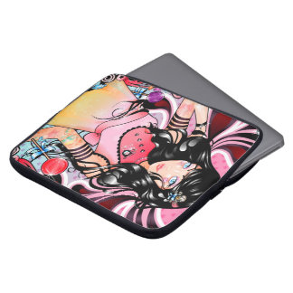 """Punk Princess In Candyland"" Laptop Sleeve"
