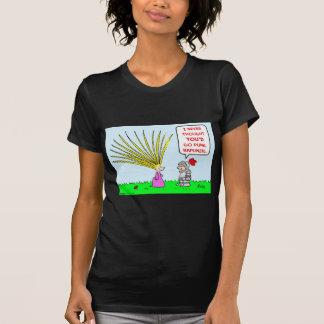punk rapunzel hair T-Shirt