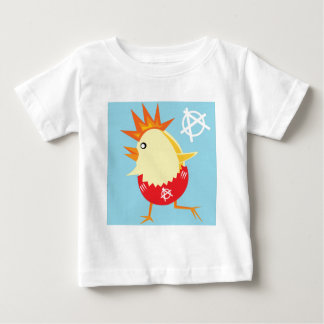 punk rock anarchy easter chick baby T-Shirt
