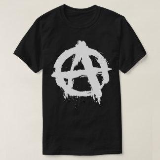 Punk Rock Anarchy Metal Skate Symbol T-Shirt