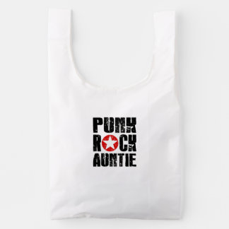 Punk Rock Auntie Reusable Bag