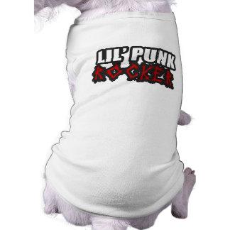 Punk Rock baby Punkrock kids Doggie Tshirt