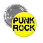 Punk rock chapa redonda 2,5 cm